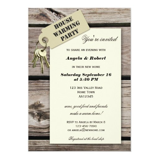 Home Sweet Home Housewarming Party Invitations | Zazzle