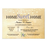 Home Sweet Home Housewarming Party Key Invite