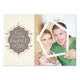 Home Sweet Home Housewarming Party Photo Invite