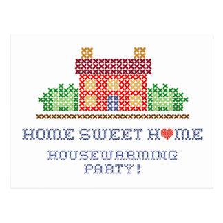 Home Sweet Home Housewarming Party Postcard