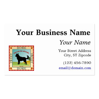 Home Sweet Home - Husky Double-Sided Standard Business Cards (Pack Of 100)