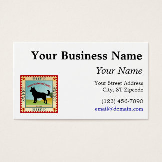 Home Sweet Home - Husky Business Card