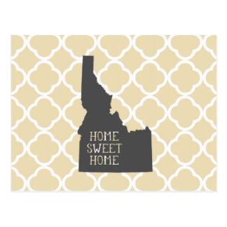 Home Sweet Home Idaho Postcard