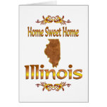 Home Sweet Home Illinois Greeting Cards