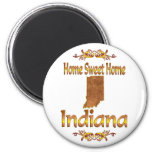 Home Sweet Home Indiana Fridge Magnets