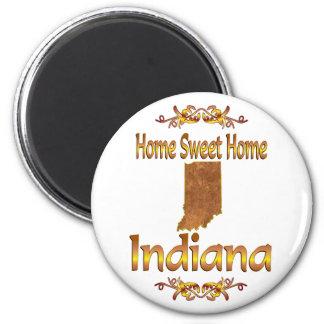 Home Sweet Home Indiana Fridge Magnets