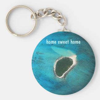 home sweet home keychain