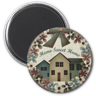 Home Sweet Home Kids T Shirts and Kids Gifts Magnet