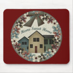 Home Sweet Home Kids T Shirts and Kids Gifts Mouse Pad