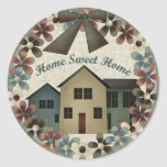 Home Sweet Home Kids T Shirts and Kids Gifts Sticker