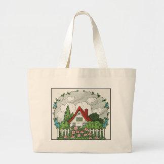 Home Sweet Home Large Tote Bag