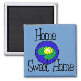 Home Sweet Home Lilly Pad Magnet