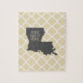 Home Sweet Home Louisiana Jigsaw Puzzle
