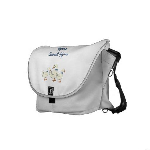 Home Sweet Home Messenger Bags