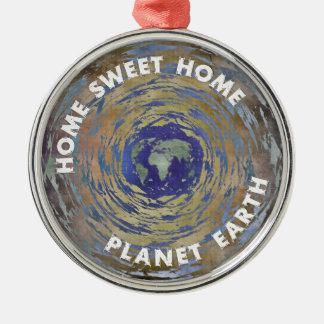Home Sweet Home Metal Ornament