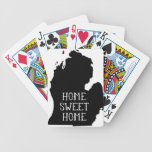 Home Sweet Home Michigan Bicycle Playing Cards