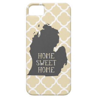 Home Sweet Home Michigan iPhone 5 Covers