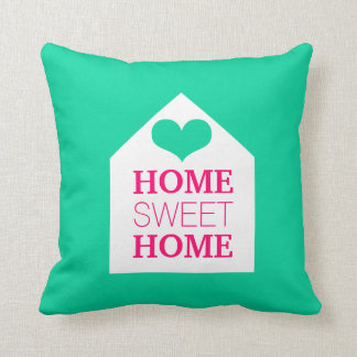HOME SWEET HOME Mink & Pink Pillow
