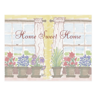 Home Sweet Home Moving Announcement Cards Postcard