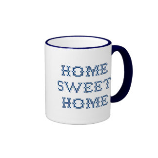 Home Sweet Home Ringer Coffee Mug
