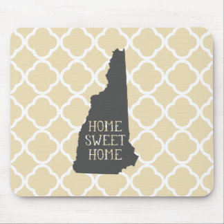 Home Sweet Home New Hampshire Mouse Pad
