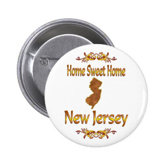 Home Sweet Home New Jersey Pins