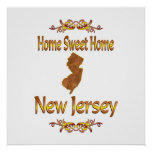 Home Sweet Home New Jersey Posters