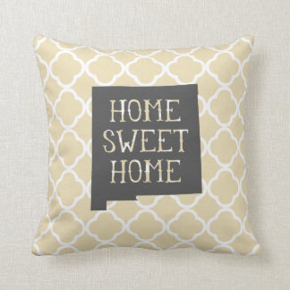 Home Sweet Home New Mexico Throw Pillow