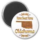 Home Sweet Home Oklahoma Magnet