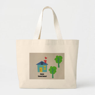 """Home Sweet Home """"Ours"""" 2013 Canvas Bags"""
