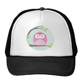 HOME SWEET HOME :: Owl in a tree 3 Mesh Hats