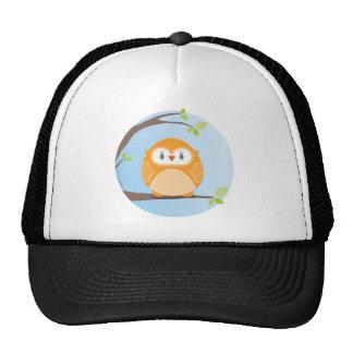 HOME SWEET HOME :: Owl in a tree 4 Trucker Hats