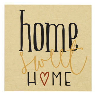 Home Sweet Home Panel Wall Art