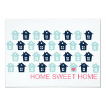 home sweet home personalized announcements