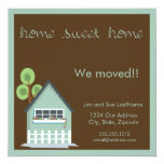 home sweet home personalized invite