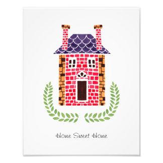 Home Sweet Home Photo Print