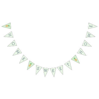 Home Sweet Home Pineapple Housewarming Party Bunting Flags