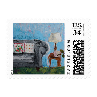 Home Sweet Home Poststamp Postage