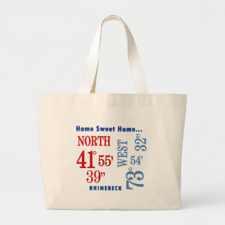 home sweet home Rhinebeck nautical Tote Bags