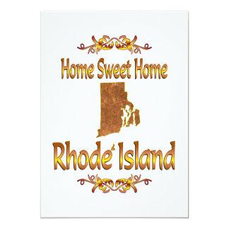 Home Sweet Home Rhode Island Card