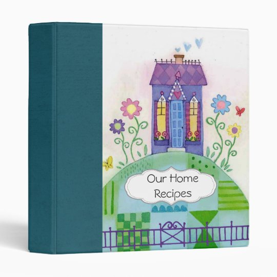 Home Sweet Home Scrapbook 3 Ring Binder
