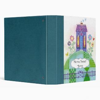 Home Sweet Home Scrapbook Binder