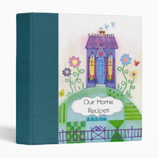 Home Sweet Home Scrapbook 3 Ring Binders