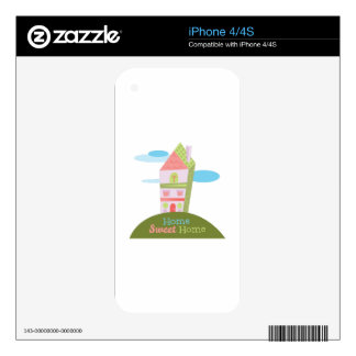 Home Sweet Home Skin For iPhone 4S