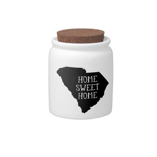 Home Sweet Home South Carolina Candy Jars