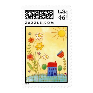 home sweet home stamp stamp