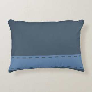 Home Sweet Home Steel Blue Decorative Pillow