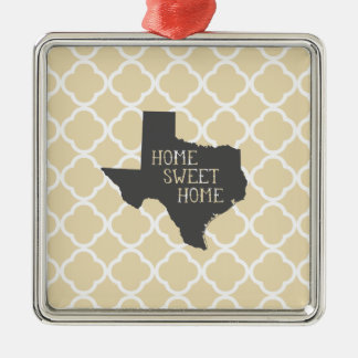 Home Sweet Home Texas Christmas Tree Ornaments