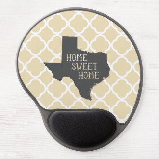 Home Sweet Home Texas Gel Mouse Pad