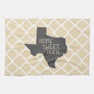 Home Sweet Home Texas Hand Towel
